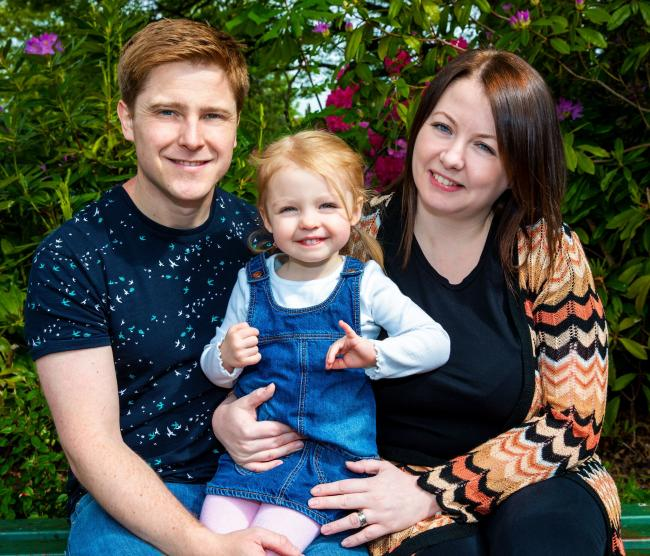Enfield man delighted at becoming a father after being