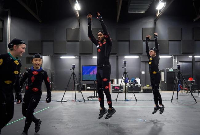 Joe Gomez Premier League Stars Filming at Space Studios