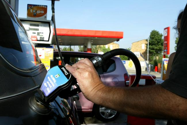 New figures show fuel prices for different areas in the UK