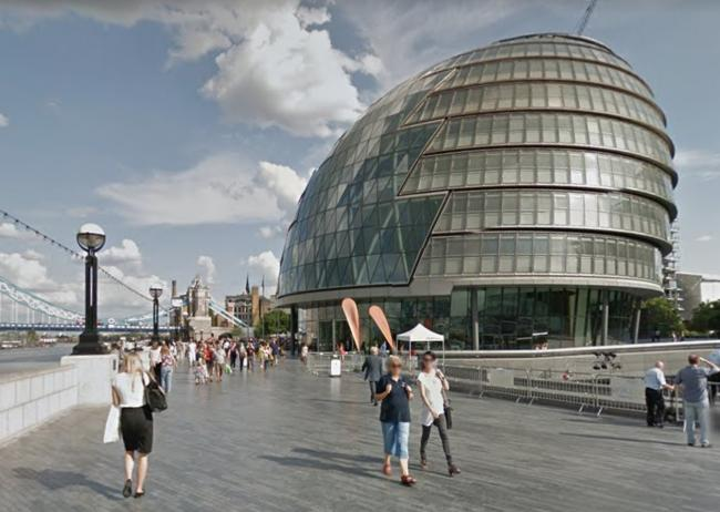 The London Assembly is holding virtual meetings during coronavirus (Photo: GoogleMaps).