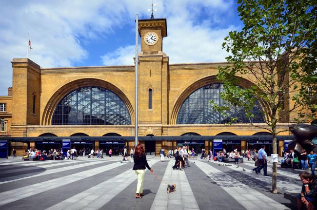 There will be fewer trains in and out of Kings Cross this weekend on the East Coast Main Line