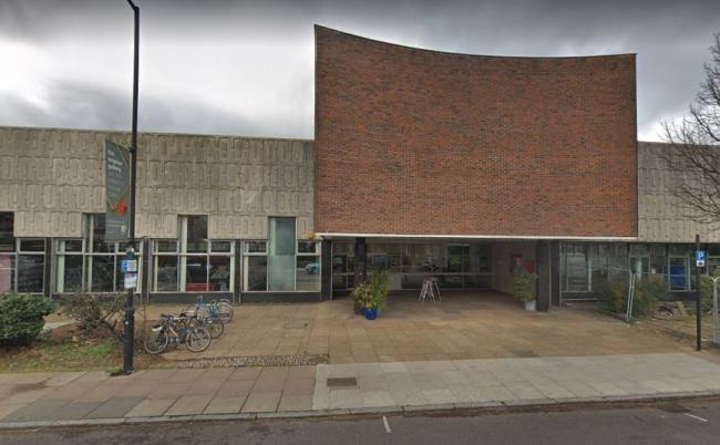 Haringey Labour agreed to invest £3.77million into Hornsey Library (google street view)