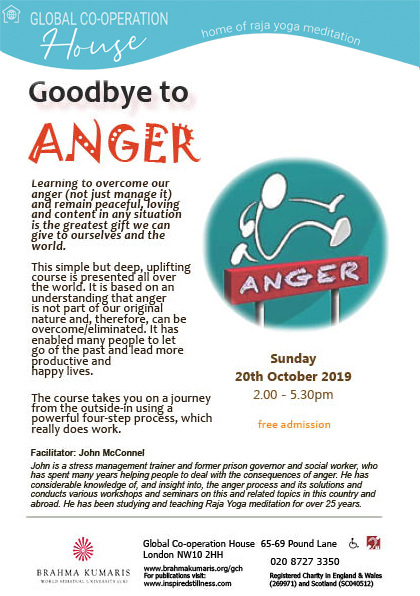 Goodbye to Anger