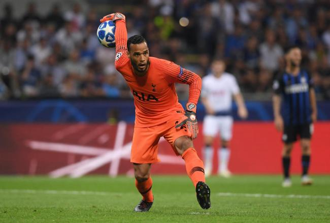 Michel Vorm has agreed a deal with Spurs until the end of the season. Picture: Action Images
