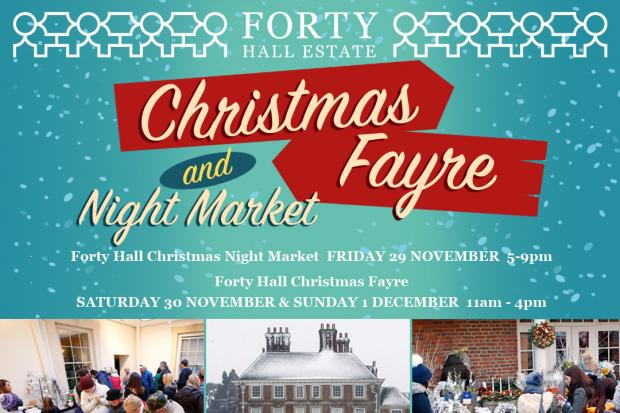 Forty Hall Christmas Fayre & Night Market
