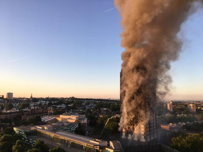 Most fire fighters have only had online high rise training since the fire almost three years ago (Photo: Natalie Oxford/PA Wire).