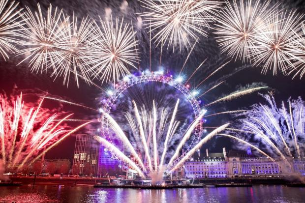 Enfield Independent: London welcomed the new decade with its annual fire.works display (Photo: City Hall)