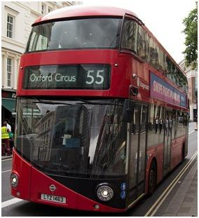 Number 55 Routemaster. Photo: TfL