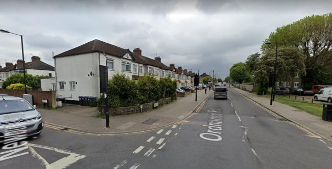 The incident happened in Ordnance Road, Enfield