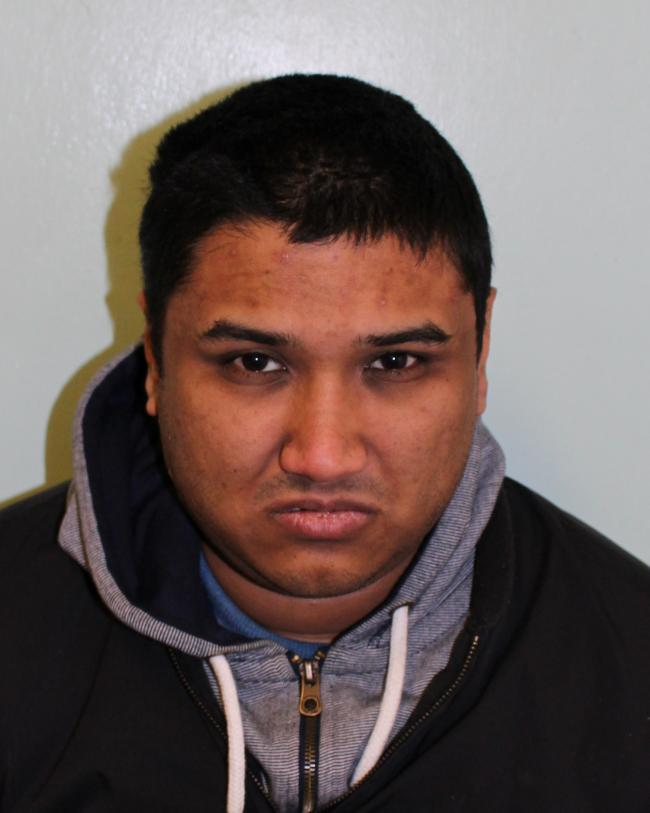 Afzal Miah (pictured) has been jailed (met police)