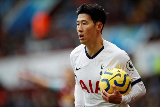 Son Heung-min is expected to be out 'for a number of weeks'. Picture: Action Images