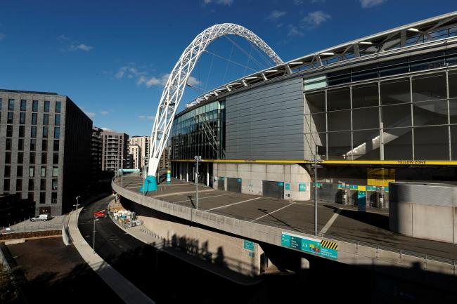 The final of Euro 2020 was due to take place at Wembley. Picture: Action Images