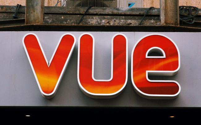 Vue releases plan to reopen its cinemas with strict new rules. Picture: PA Wire