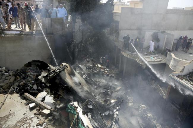 Dozens killed as Pakistani passenger plane crashes near Karachi ...