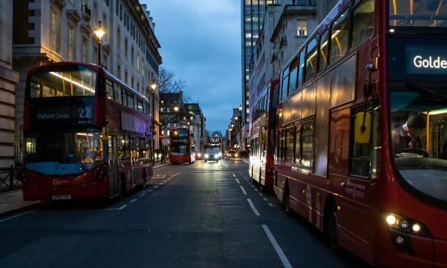 Bus fares are back in London