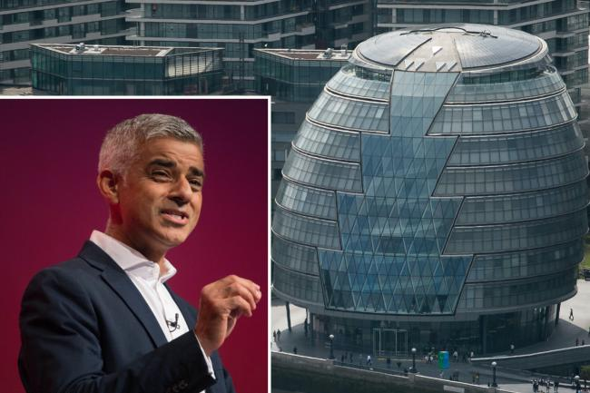 London mayor Sadiq Khan said the City Hall offices cost more than £11 million a year in rent and charges. Photo: PA