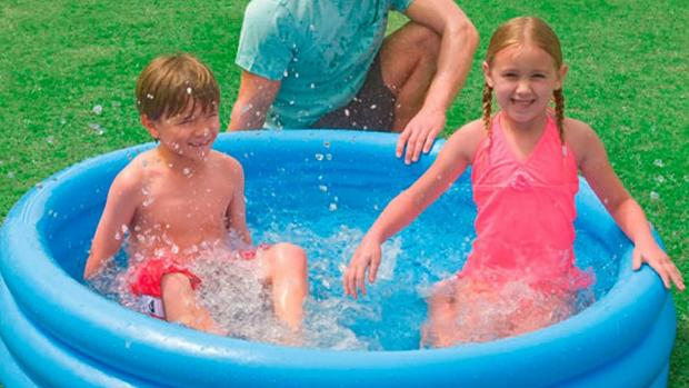 Enfield Independent: Lower your body temp with this inflatable pool. Credit: Intex