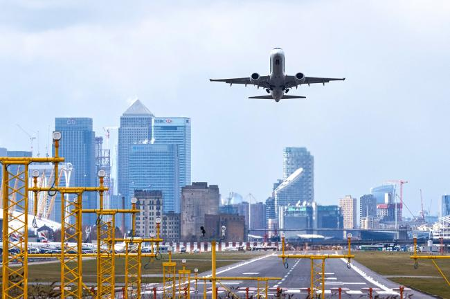 London City airport cancelled all commercial flights from late March to late June (Photo: Marcin Rogozinski).