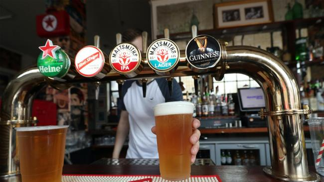 Curfews could be imposed on pubs and restaurants in London. Photo: PA