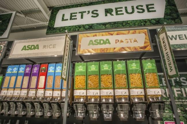 Asda opens a 'sustainability supermarket' as part of new trial. Picture: Asda