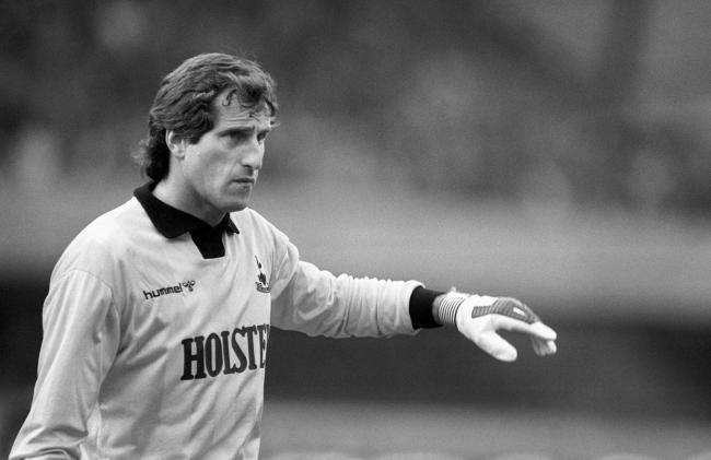 Ray Clemence pictured in 1985 playing for Tottenham Hotspur. Credit: PA