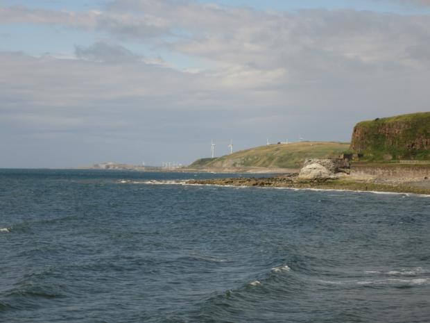 Enfield Independent: Views of the Whitehaven coast