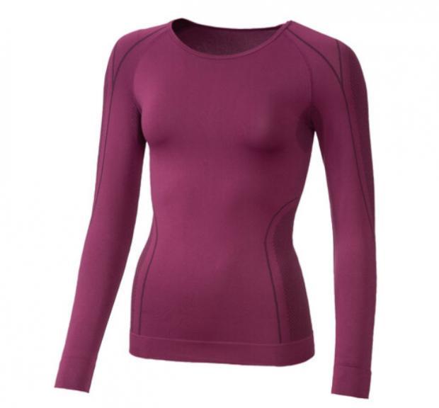Enfield Independent: Crivit Ladies' Seamless Thermal Long- Sleeve Vest. (Lidl)