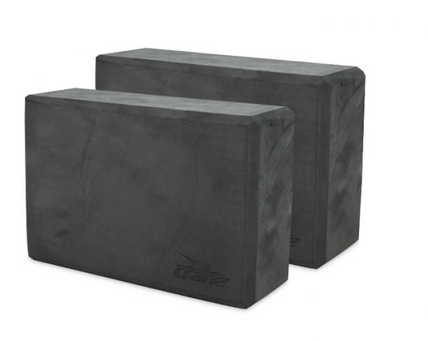 Enfield Independent: Crane Dark Grey Yoga Block 2 Pack. (Aldi)