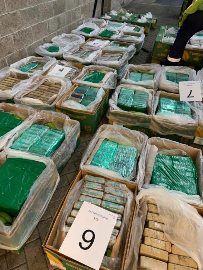 Some of the cocaine snuck in to the UK (Photo: NCA)