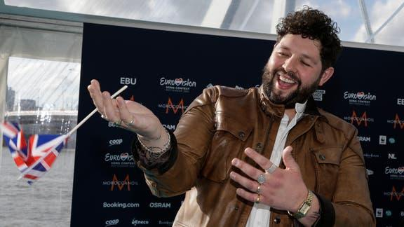 Enfield Independent: James Newman will be representing the UK at Eurovision 2021. (PA)