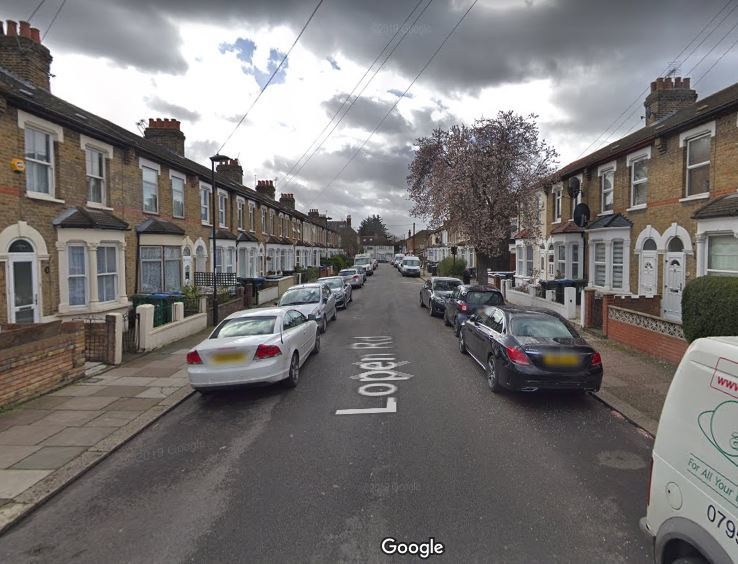 The victim was parked somewhere along Lopen Road, pictured, which is a dead-end road off Silver Street. Credit: Google Maps