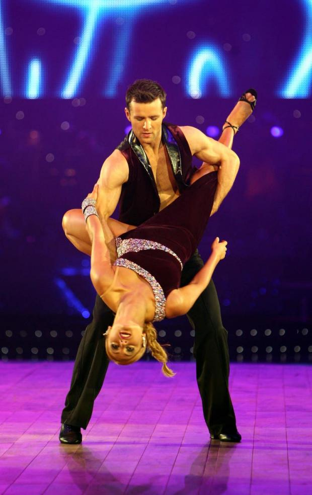 Enfield Independent: Harry Judd and dance partner Aliona Vilani (David Jones/PA)