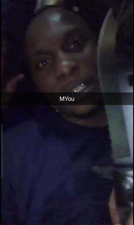 Enfield Independent: Snapchat footage of Abel Buafo in the nightclub with the knife. Image provided by Met Police