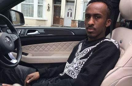 Enfield Independent: Victim Abdullahi Mohamoud. Credit: Met Police