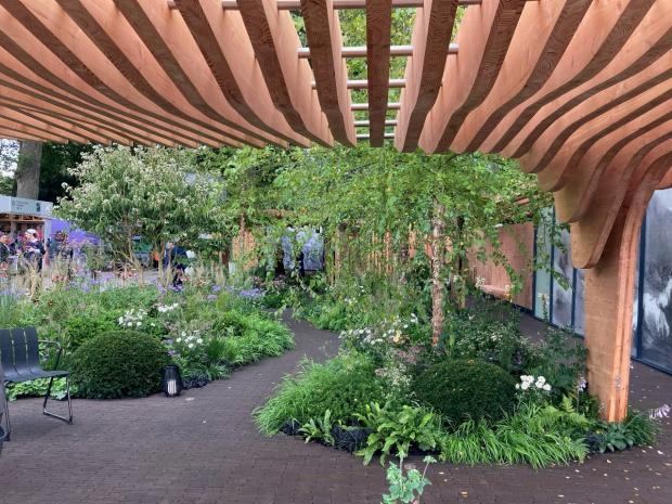 Enfield Independent: The Florence Nightingale Garden: A celebration of modern-day nursing (Hannah Stephenson/PA)