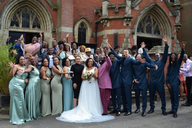 Enfield Independent: Wedding celebrations