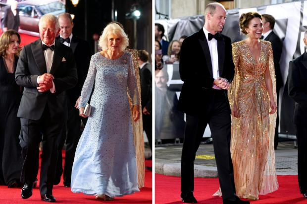 Enfield Independent: The Prince of Wales with the Duchess of Cornwall and the Duke and Duchess of Cambridge (L-R) (Ian West/PA/Canva)