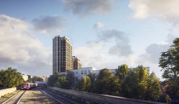 Enfield Independent: An image of the proposed Southgate Office Village scheme