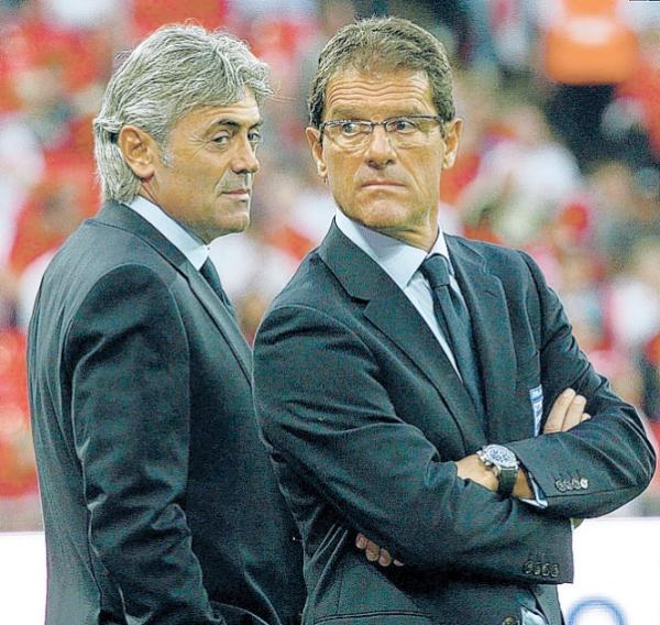 Baldini worked alongside Capello with England