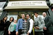 The team at Good Looking Optics in Genotine Road, Enfield Town