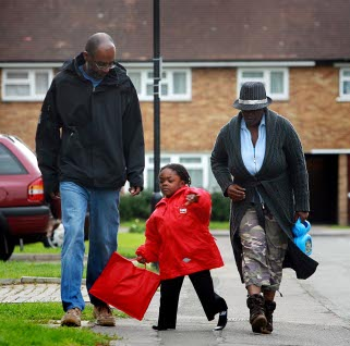 Harvey, 5, makes the walk to his new school his parents feared would never happen