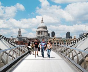 Explore the capital during Spring into Summer Walking Weekend