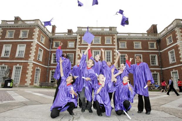 Youngsters pick up degrees in children's university scheme