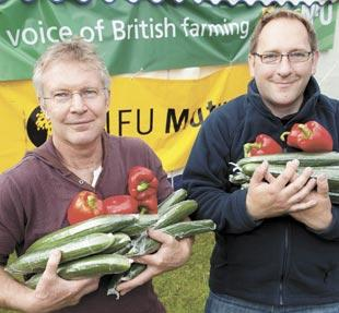 Lea Valley Growers: Gary Taylor and Lee Stiles