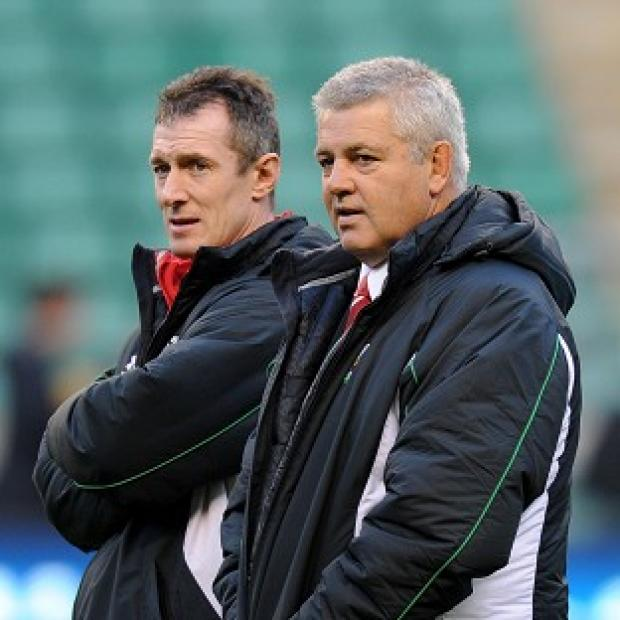 Robert Howley (left) and Warren Gatland