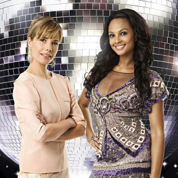 Darcey Bussell, left, is set to replace Alesha Dixon on the Strictly Come Dancing judges panel (BBC/PA)