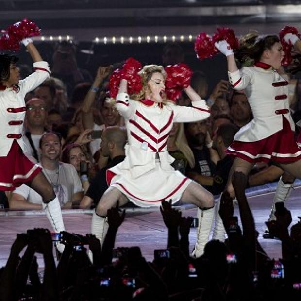 Madonna started her world tour with a performance in Tel Aviv, Israel