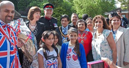 Harrow Asian Deaf Club held a Jubilee celebration.