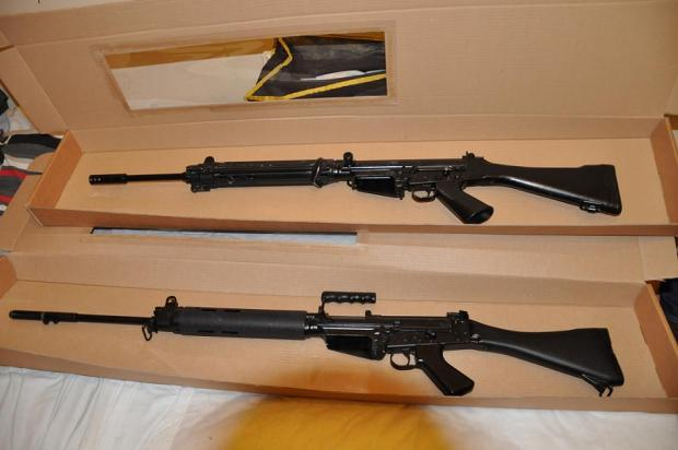 The 'devastating' rifles discovered in Upper Edmonton