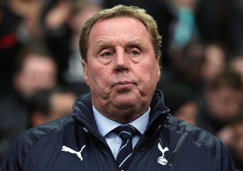 Harry Redknapp has managed Tottenham Hotspur since 2008.